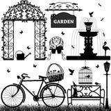 Parque del jardín recreacional Imagen de archivo libre de regalías