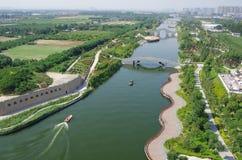 Parque del lago china xian en Seul Imágenes de archivo libres de regalías