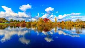 Parque del lago commonwealth Imagen de archivo libre de regalías