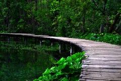 Parque del lago de Croacia Imagen de archivo