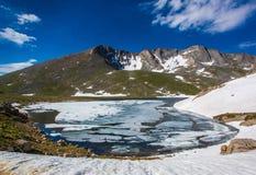Parque del lago summit Fotos de archivo libres de regalías