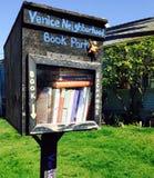 Parque del libro de la playa de Venecia foto de archivo libre de regalías