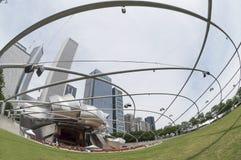 Parque del milenio foto de archivo libre de regalías
