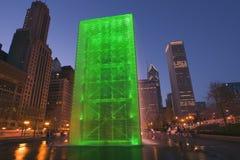 Parque del milenio, Chicago Fotos de archivo libres de regalías