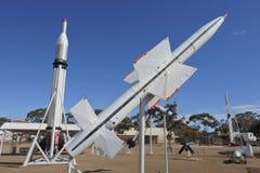 Parque del misil de Woomera en el sur de Australia de Woomera imagenes de archivo