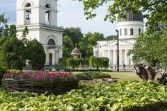 Parque del Moldavia - Chisinau imagen de archivo