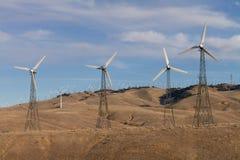 Parque del molino de viento en Techahapi Fotos de archivo