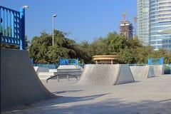 Parque del monopatín Foto de archivo