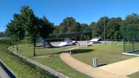 Parque del monopatín Imagen de archivo