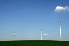 Parque del motor de viento Fotos de archivo libres de regalías