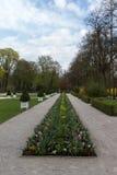 Parque del nuevo palacio en Bayreuth, Alemania, 2015 Foto de archivo libre de regalías