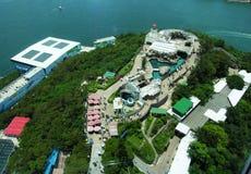 Parque del océano de Hong-Kong Imagenes de archivo