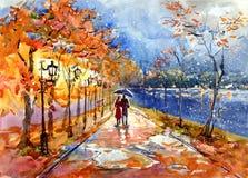 Parque del otoño libre illustration