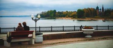 Parque del otoño Fotos de archivo