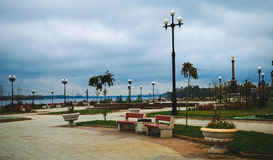 Parque del otoño Foto de archivo libre de regalías