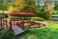 Parque del otoño Jardín de Bisley Imágenes de archivo libres de regalías