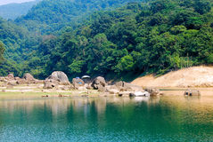 Parque del país de Hong-Kong Shing Mun Foto de archivo libre de regalías