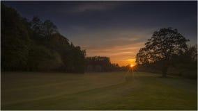 Parque del país de Pollok - Glasgow Foto de archivo