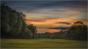 Parque del país de Pollok - Glasgow Fotografía de archivo