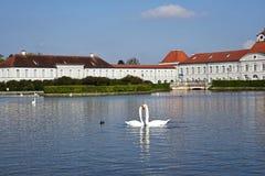 Parque del palacio de Nymphenburg, Munich Imagenes de archivo