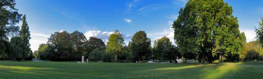 Parque del panorama fotografía de archivo