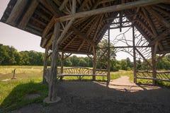 Parque del paseo de los poetas Foto de archivo