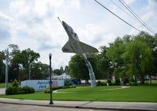 Parque del patriota, Covington, Tennessee fotografía de archivo