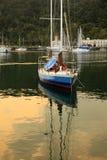 Parque del puerto de Telaga Foto de archivo libre de regalías