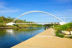 Parque del río de Hadera Foto de archivo
