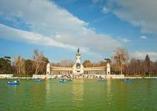 Parque del Retiro Royalty Free Stock Images