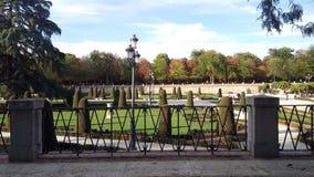 Parque del Retiro de Madrid, Spanien Arkivbild