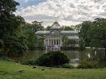 Parque del Retiro Madrid Stock Foto