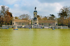 Parque del Retiro, Madrid Stock Images