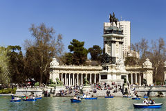 Parque del Retiro, Madrid Royalty Free Stock Photo