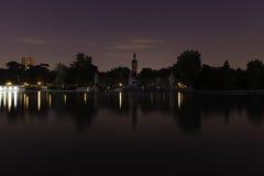 Parque del Retiro in Madrid Stock Photo