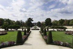 Parque del Retiro in Madrid Royalty Free Stock Image
