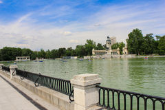 Parque del Retiro Royalty Free Stock Photo