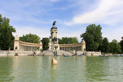 Parque del Retiro Stock Photos