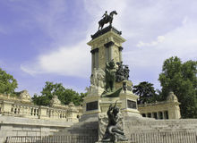 Parque del Retiro Royalty Free Stock Images
