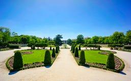 Parque del Retiro Royalty Free Stock Photos