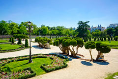 Parque del Retiro Stock Photo