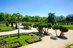 Parque del Retiro Stock Photo