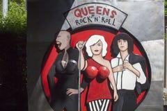 Parque del rock-and-roll Imagenes de archivo