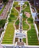 Parque del tejado imagen de archivo libre de regalías