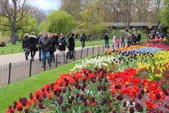 Parque del tiempo de primavera de Londres Fotografía de archivo