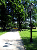 Parque del verano Fotos de archivo