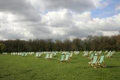Parque del verde de Londres Imagenes de archivo