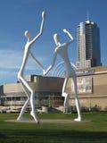 Parque Denver da escultura Fotos de Stock Royalty Free
