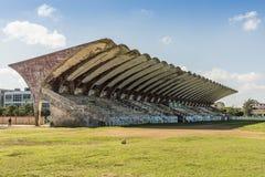 Parque Deportivo José Martà stadionhavannacigarr Arkivfoton