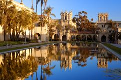 Parque do balboa de San Diego fotografia de stock